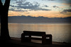 A bit of peace (Micettes) Tags: sunset bench tramonto pearljam alive lagodigarda panchina peschiera updatecollection micettes 4tografie