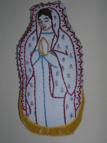 Embroidered Mary