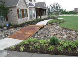 frontyard landscape plants