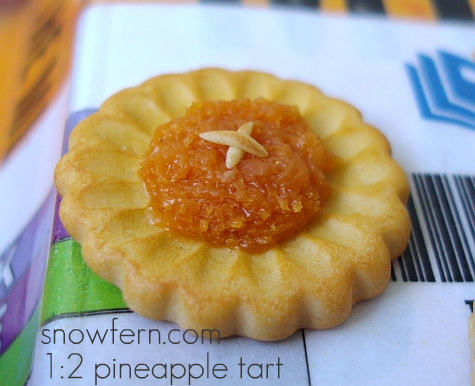 1:2  pineapple tart