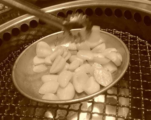 ニンニク焼き