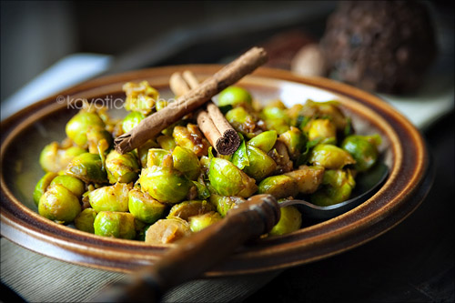 Brussels Sprouts Go Kayotic