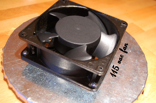 115vac Fan Mounted