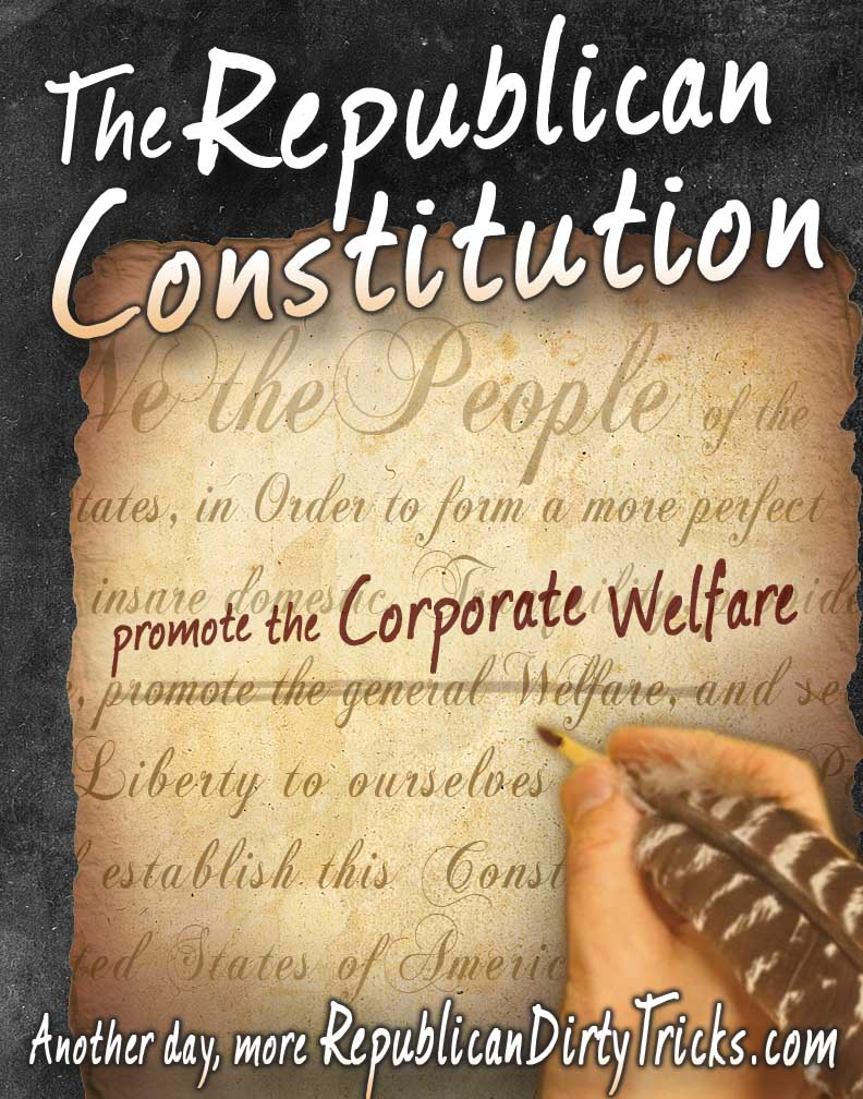 Republican Worldview: Indentured Servitude to Transnational Corporations Equals Freedom