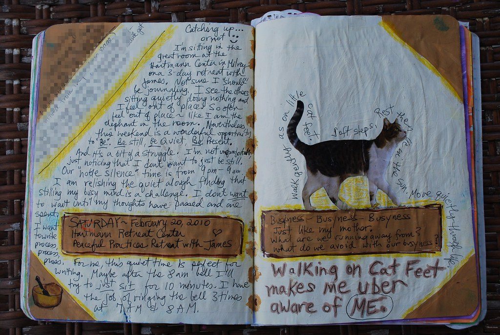 Art Journal Peaceful Retreat 02