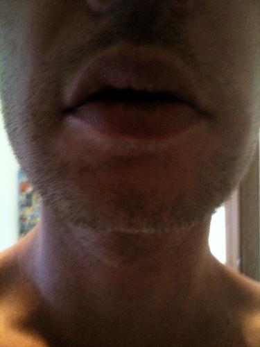 No beard
