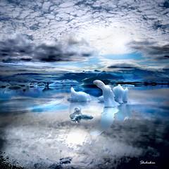 Icelandic landscape #20 (shchukin) Tags: light reflection ice water landscape iceland lagoon shade iceberg jokulsarlon infinestyle flickrdiamond shchukin saariysqualitypictures canonpowershotsx10is yourwonderland imagicland magicunicornverybest selectbestexcellence magicunicornmasterpiece sbfmasterpiece imagepastfeaturedwinner wonderworldgallery