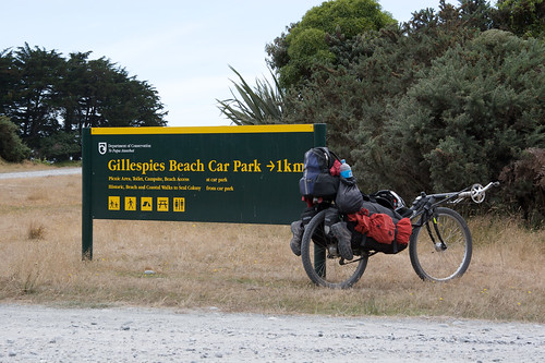 Only 1km to Gillespies Beach