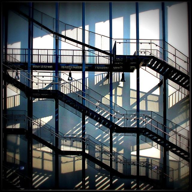 stairs, lines and shadows