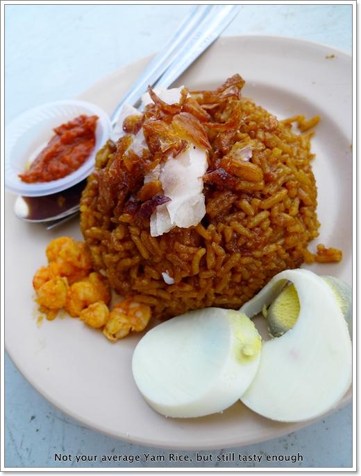 Yam Rice @ Tien Chuan, Klang