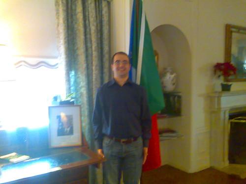 Marcello fra bandiera e Napolitano