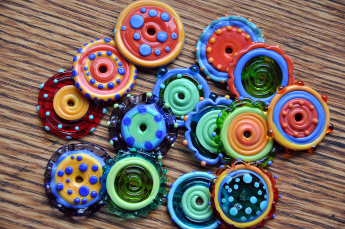 disc beads 1