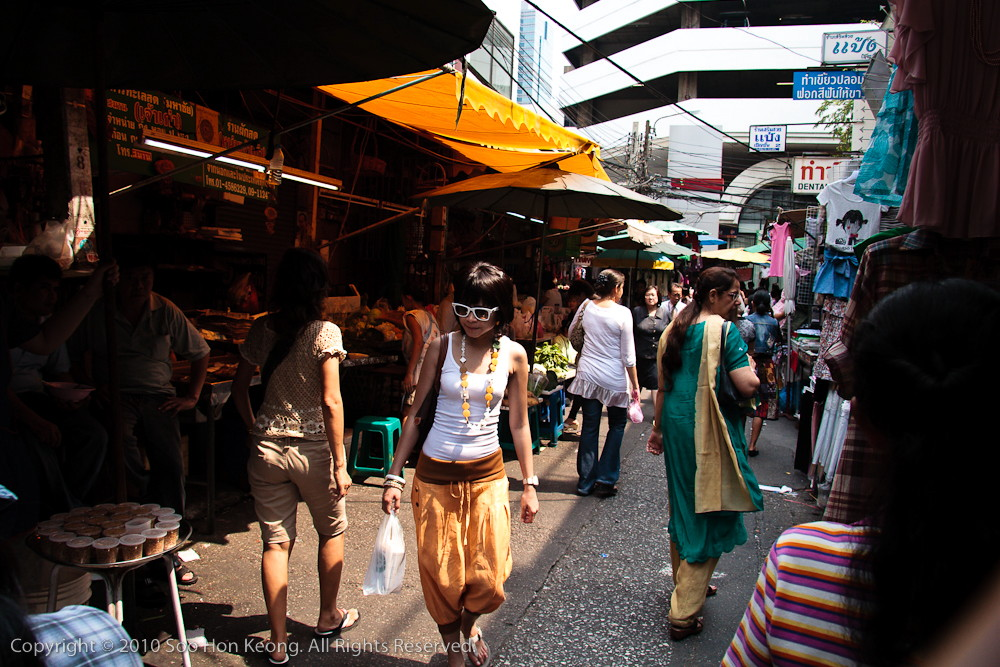 Stylish in the Market @ Money Diluting Lane, Bangkok, Thailand