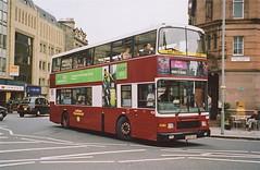 Lothian Regional Transport 408, P408KSX. (EYBusman) Tags: city bus scotland volvo coach edinburgh mark centre transport royal curly r type alexander regional municipal lothian olympian langtoft p408ksx eybusman