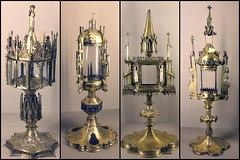 Reliquary-monstrances -collage