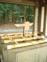 Purification water ladles (catjerome_now) Tags: tokyo meijijingu purification tokyoday05