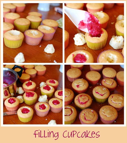 Filling a Cupcake by Tidy Mom