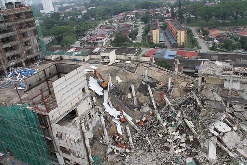 Ruins of Jaya Supermarket