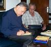 Maestro Zubin Mehta signing newyorkbrass classikids book