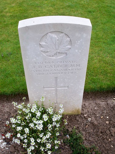 John D. Calder Grave