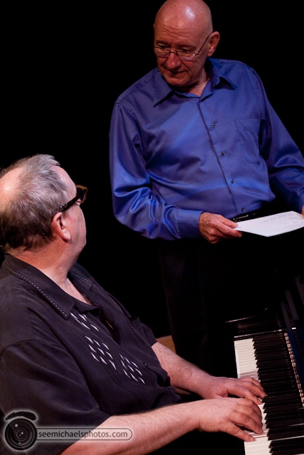 Kenny Werner and Mike Wofford at Birch North Park Theatre 40710 © Michael Klayman-014
