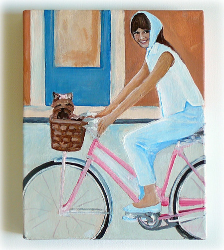 audrey hepburn painting on canvas