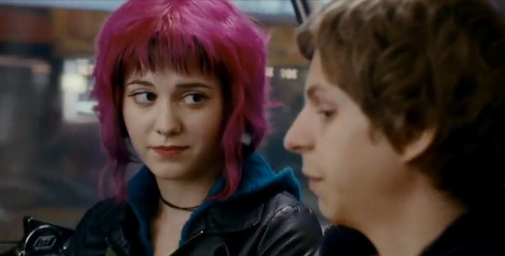 Scott Pilgrim Vs The World Scott Pilgrim and Ramona Flowers