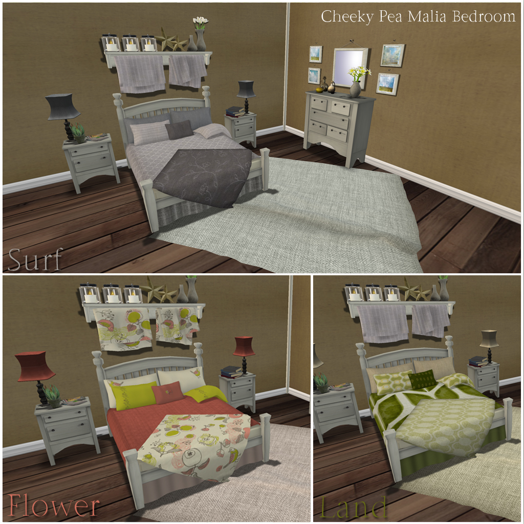 Malia Bedroom Texture Options