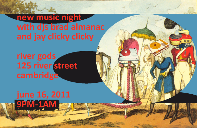 New Music Night with Brad Almanac + Jay Clicky Clicky | River Gods | 16 June