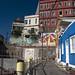 Stupende case colorate nel (Cerro Bellavista - Valparaiso)
