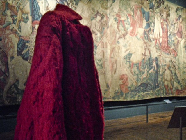 Tapestry Gallery: Long red coats