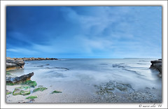 Cabo las Huertas ( Marco Antonio Soler ) Tags: las sunset sea espaa paisajes seascape beach clouds landscape atardecer mar spain cabo nikon rocks mediterranean mediterraneo 14 playa iso alicante nubes jpg atardeceres hdr rocas waterscape 2014 huertas alacant d80 blinkagain