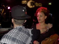 Dappy & Gemma Cairney (Rodrico) Tags: london camden fazer roundhouse dappy 1xtra bbcelectricproms ndubz bbcradio1xtra gemmacairney
