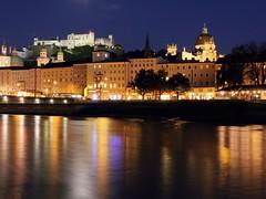 Salzburg... (werner boehm *) Tags: salzburg river austria österreich wasser fluss spiegelung salzach rerflections wernerboehm