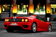 Ferrari F360 Challenge Stradale (Ed Cunha Ph) Tags: auto red car photography photo italian nightshot crystal 360 automotive ferrari exotic curitiba carro cs modena rosso scuderia challenge stradale f360 batel canon50mmf18ii canonrebelxsi