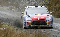 Sebastian Loeb - Citroen Total WRC at Myherin ...