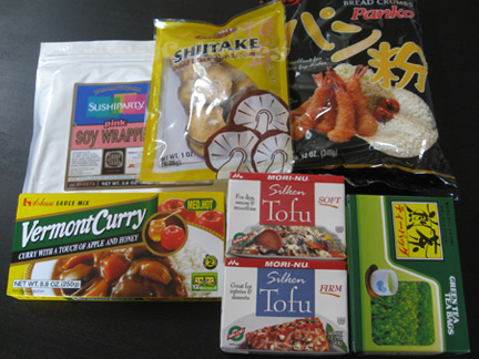 Goodies from Asian Food Grocer