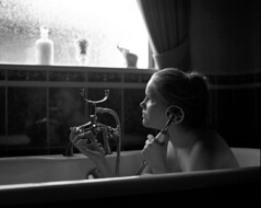 The Call (ted.kozak) Tags: portrait bw film window bath ne 6x7 ieva tadas selfdeveloped kozak taip ne4 mamiyarz67proii ne2 ne3 tedkozak taip2 taip5 taip7 taip10 taip3 taip4 taip6 taip8 taip9 fotofiltroauksas kazakevicius