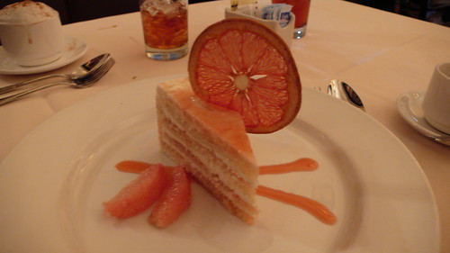 Grapefruit Cake - Brown Derby
