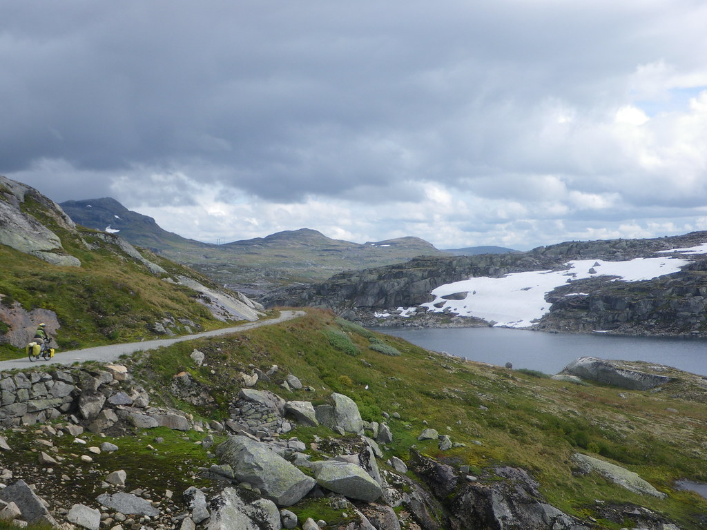 Riding the Rallarvagen