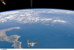 International Space Station Over Earth (NASA, 08/19/07) (NASA's Marshall Space Flight Center) Tags: italy nasa internationalspacestation stationscience crewearthobservation