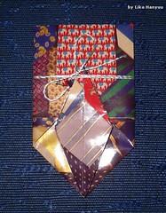 鶴の折り紙封筒