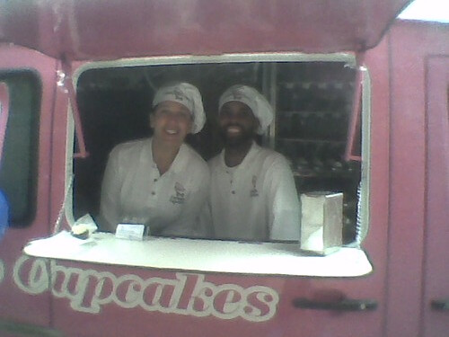 Kristi and Sam of Curbside Cupcakes