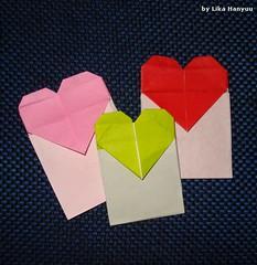 Envelope Coração