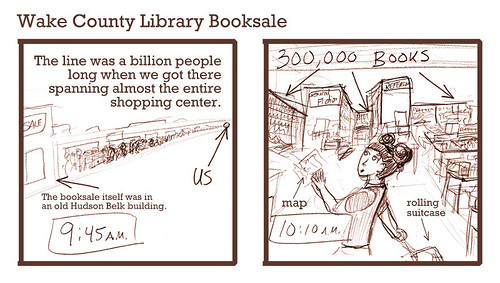 Wake County Library Booksale: Comic