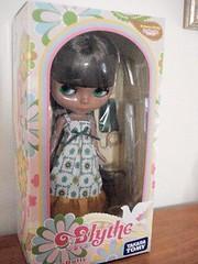 Bianca in her box!