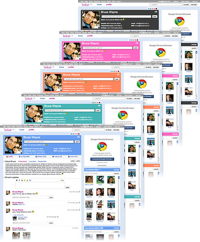 Layout Novo Orkut