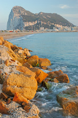 DSC_0596 (Javier Monchol) Tags: beach sunrise playa amanecer gibraltar seashore orilla lalnea lalneadelaconcepcin