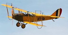 Replica WWI JN-4D In Flight (thegreatlandoni) Tags: usa history classic america plane vintage airplane war texas technology unitedstates aviation military wwi great jenny elevator wing engine cockpit aeroplane worldwarone historical preserved ww1 past airborne greatwar propeller preserve trainer prop kingsbury biplane eaa rudder curtiss fuselage undercarriage aeronautical adobephotodeluxe flyingmachine stabilizer thegreatwar vintagetechnology propblur landoni thegreatlandoni jimlandon rogerfreeman pioneerflightmuseum cannuck