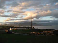 cape erimo_2 @ hokkaido japan (margherita de stefani) Tags: sunset sky panorama japan clouds hokkaido tramonto nuvole view outdoor pacificocean cielo vista  nippon capo giappone landascape erimo oceanopacifico  capeerimo